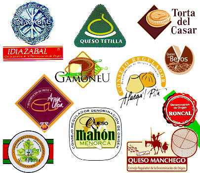 DOP指定されたチーズブランドのロゴ