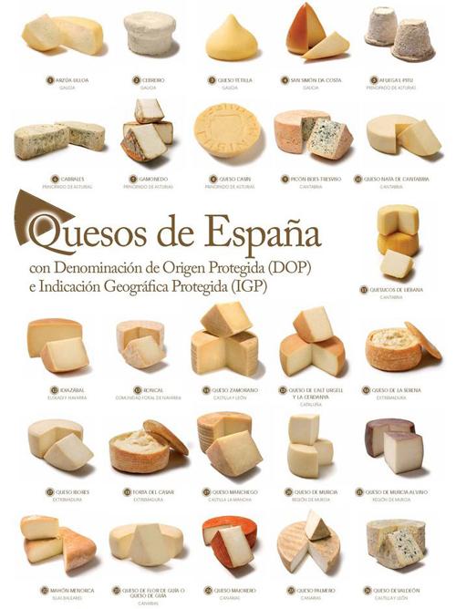 産地保護スペインチーズ