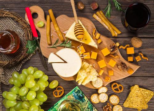 チーズとハチミツ