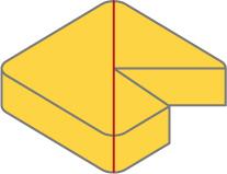 四角形チーズの切り方