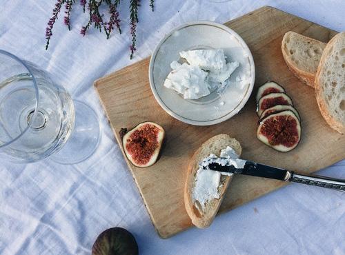 リコッタチーズとイチジク